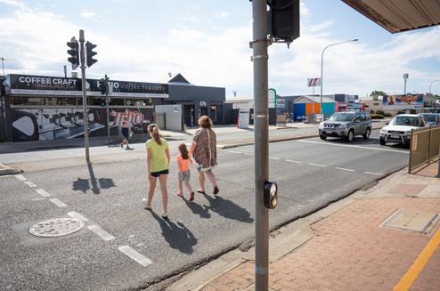 Pedestrian Actuated Crossing