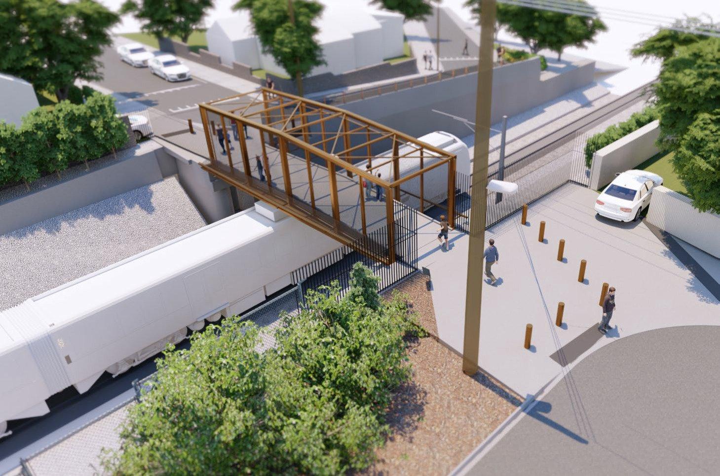 King Street Pedestrian Bridge - Concept Design