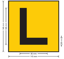L Plate image