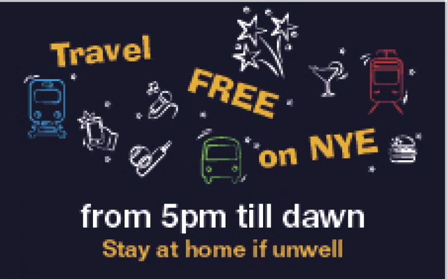 Travel Free on NYE
