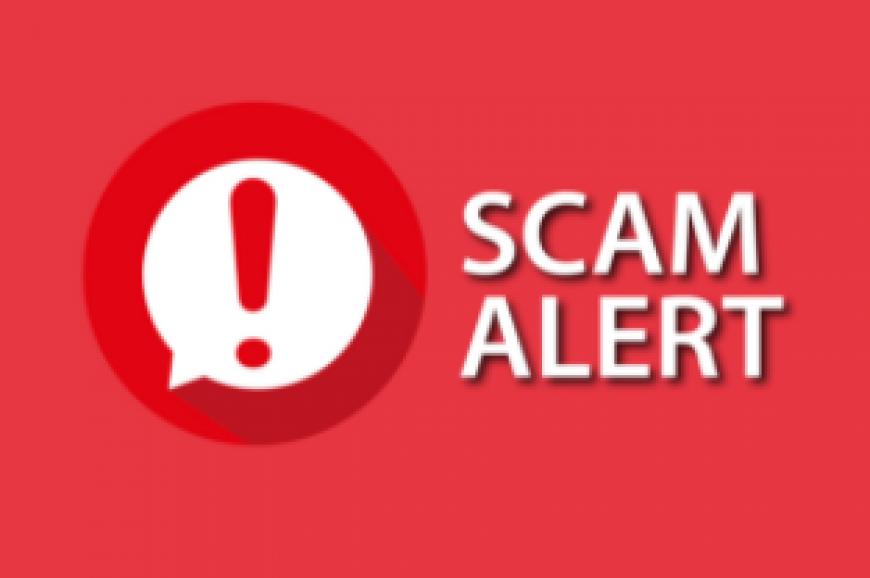 Scam Alert - Fake EzyReg phishing email