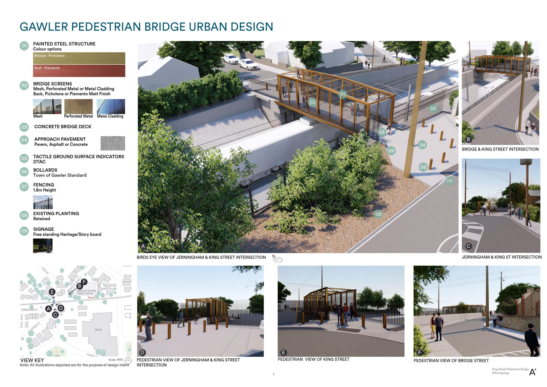 GREP - KSB Pedestrian Bridge Urban Design PROPOSED