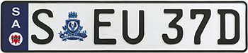 Euro plate example